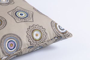 Designer cushion Fer Forgè Army | BROCHIER e-shop