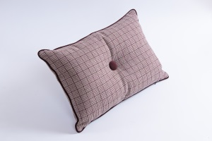 Designer cushion Fortezza Diamante Ametista | BROCHIER e-shop