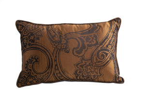 Designer cushion Pechino Bosforo Ruggine | BROCHIER e-shop