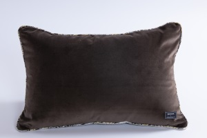 Designer cushion Leonida Floris Wengè | BROCHIER e-shop
