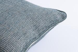 Designer cushion Liz Leonida Petrol | BROCHIER e-shop