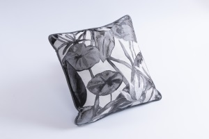 Designer cushion Morgana Fenice Ardesia | BROCHIER e-shop