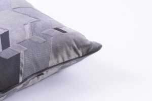 Designer cushion Camouflage Leonida Ardesia | BROCHIER e-shop